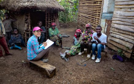 Notes from the field: discussing with Twa hunter-gatherers in eastern DR Congo